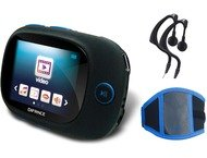 Difrnce MP3/MP4/JPG 1.8color, 4GB,  MP1861 Armband Blauw
