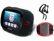 Difrnce MP3/MP4/JPG 1.8color, 4GB,  MP1861 Armband Rood