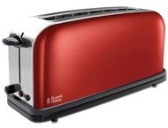 Russel Hobbs Colours Plus+ Flame Red Long Slot 2139156