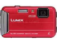 Panasonic DMC FT30 - Rouge