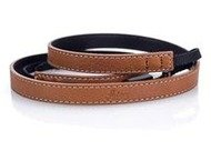 Neck strap for D-Lux (Typ 109), leather, cognac
