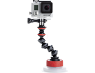 Joby Gorillapod Suction Cup  GorillaPod Arm Black/Red