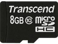 Transcend MicroSD Card SDHC 8GB Class 10