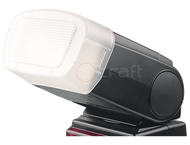 Kaiser Softcap Flash Diffuser, For Canon Speedlite 320Ex
