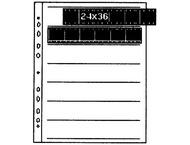 Kaiser Negative Filing Sheets, 35mm (1,4), for 7x6 - KA2510