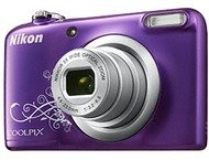 Nikon Coolpix A10 - Paars Lineart