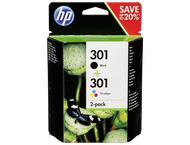 HP N9J72AE Combo 2-pak BK/Color nr. 301