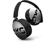 Akg Y50BT, on-ear wireless BT HPH, zilver
