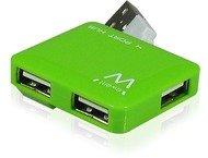 Ewent EW1127 USB2.0 Hub mini 4 port green