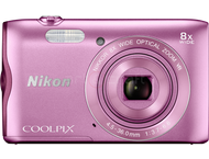 Nikon Coolpix A300 - Rose