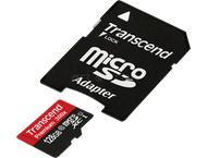 Transcend TS128GUSDU1 MicroSDHC UHS-1 300x w/adapter 128GB