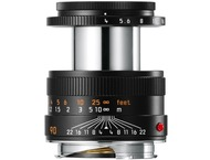 Leica M-90mm F4.0 Macro-Elmar Noir - (11670)