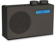 Nikkei NDB10AT Portable DAB radio - FM scan - 3W - Antraciet