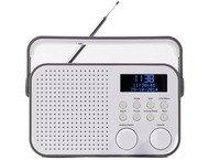 Nikkei NDB20GY Portable DAB+ radio - alarm, FM scan - AUX in