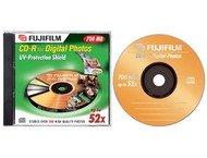 Fuji CD-R 700mb 52x jewel case 10-p
