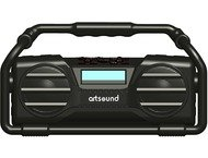 ArtSound U6, oplaadbare digitale all-round radio, zwart