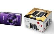 Canon Ixus 285 + Tas - Paars + 8GB SD-kaart