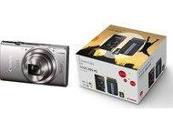 Canon Ixus 285 + Tas - Zilver + 8GB SD-kaart