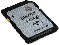 Kingston Flash Card / SDXC Class 10 64GB