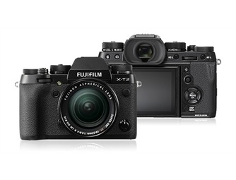 Fujifilm X-T2 Body + 18-55mm - Zwart