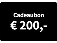 Cadeaubon Art  Craft - Waarde 200 Euro