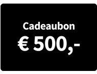 Cadeaubon Art  Craft - Waarde 500 Euro
