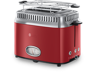 Russell Hobbs Toaster Retro Retro Ribbon Red21680-56