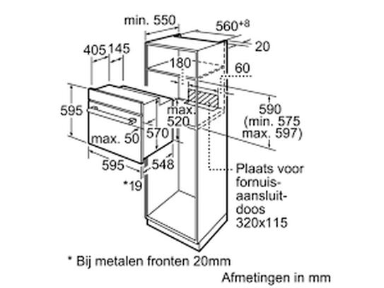 Siemens Hb65ab555f Four Multifonction Inox A Art Craft