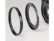 Kaiser Filter Adapter Ring, 49-52, Black