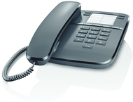 Gigaset DA310 corded desk phone - black - 1 piece