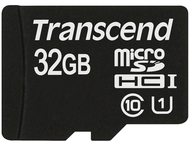 Transcend 32 GB micro SDHC UHS-I card - Read up to 90MB/s