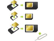 Muvit simcard adaptor 3 in 1 (SIM - MICROSIM - NANOSIM) + ve