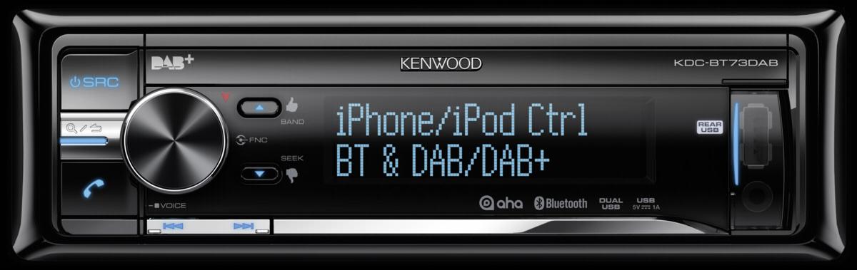 kenwood kdc bt73dab bluetooth cd receiver art craft. Black Bedroom Furniture Sets. Home Design Ideas