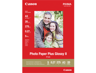 Canon PP-201 A3 Plus Glossy II Photo Paper - 20 sheets