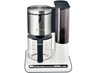 Bosch TKA8631 Styline Koffiezetapparaat, 1,25L Wit  Antraci