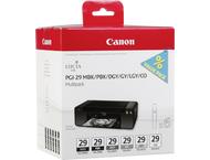 Canon PGI-29 MBK/PBK/DGY/GY/LGY Multi Cartridge