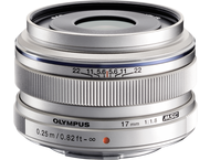 Olympus 17mm f 1.8 M Zuiko Digital ED Silver