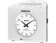Sangean RCR-9, digitale klokradio, wit