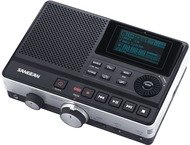 Sangean DAR-101, digitale MP3 recorder, zwart