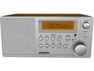 Sangean DDR-31BT, houten cabinet radio, DAB+, BT, zwart