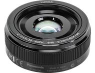 Panasonic Leica LUMIX G 20mm f/1.7 ASPH - E - Zwart