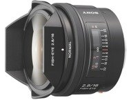 Sony Objectif Alpha 16mm F2.8 - Fisheye