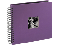 Hama Fine Art Spiral Album, Purple, 26X24/50