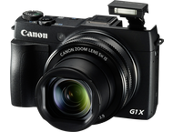 Canon PowerShot G1X Mark II - Zwart
