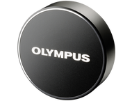 Olympus LC-61 Lens cap - zwart (metal) voor the M7518
