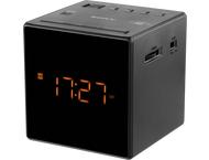 Sony Klokradio Icf-C1 Zwart Fm/Am
