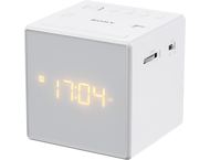 Sony Klokradio Icf-C1 Wit Fm/Am
