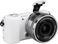 Sony A5100 Body + 16-50mm - Wit