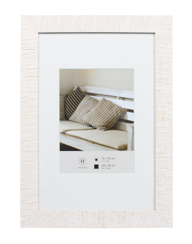 Henzo Driftwood white 20x30 Wooden Frame 80.683.02   Art & Craft