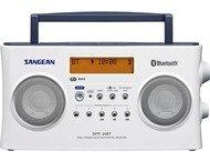 Sangean DPR-26BT, digitale radio, BT, stereo, DAB+, wit